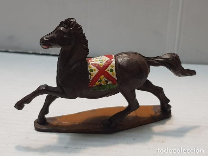 Figuras de Goma y PVC: Figura Caballo Indio de Goma Gama - Foto 2 - 206827630