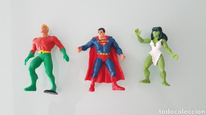 LOTE SUPERHEROES COMICS SPAIN (Juguetes - Figuras de Goma y Pvc - Comics Spain)