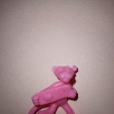 Figuras de Goma y PVC: FIGURA DUNKIN PANTERA ROSA. Lote 206940218