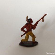 Figuras de Goma y PVC: FIGURA INDIO PECH HNOS. Lote 206991260