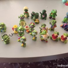 Figuras Kinder: LOTE FIGURAS KINDER,COCODRILOS,TORTUGAS,RANAS.... Lote 207062222