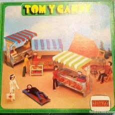 Figuras de Goma y PVC: CAMPING TOM Y CANDY - COMANSI. Lote 207066777