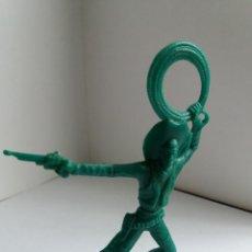 Figuras de Goma y PVC: FIGURA VAQUERO OESTE. LAFREDO ?. AÑOS 60/70. Lote 207067768