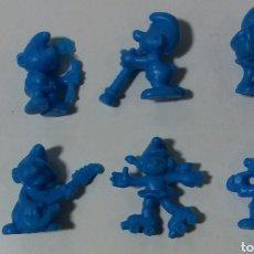 Figuras de Goma y PVC: PITUFOS DUNKIN FIGURAS. Lote 207127377