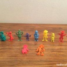 Figuras de Goma y PVC: LOTE FIGURAS DUNKIN SERIE LUCKY LUKE PREMIUM. Lote 207129215