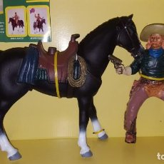 Figuras de Goma y PVC: JESSE CHISHOLM A CABALLO THE WILD WEST FIGURA PVC COMANSI WESTERN OESTE HEROES WEST. Lote 207129786
