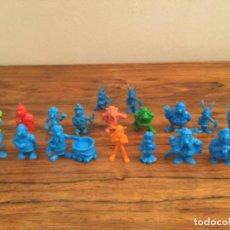Figuras de Goma y PVC: LOTE FIGURAS ASTERIX OBELIX- DUNKIN. Lote 207130048