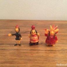 Figuras de Goma y PVC: LOTE DUNKIN FIGURAS VICKIE EL VIKINGO? TAURUS,. Lote 207130477