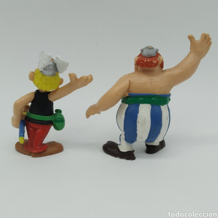 Figuras de Goma y PVC: Asterix y Obelix de Bully y Bullyland - Foto 2 - 207139517