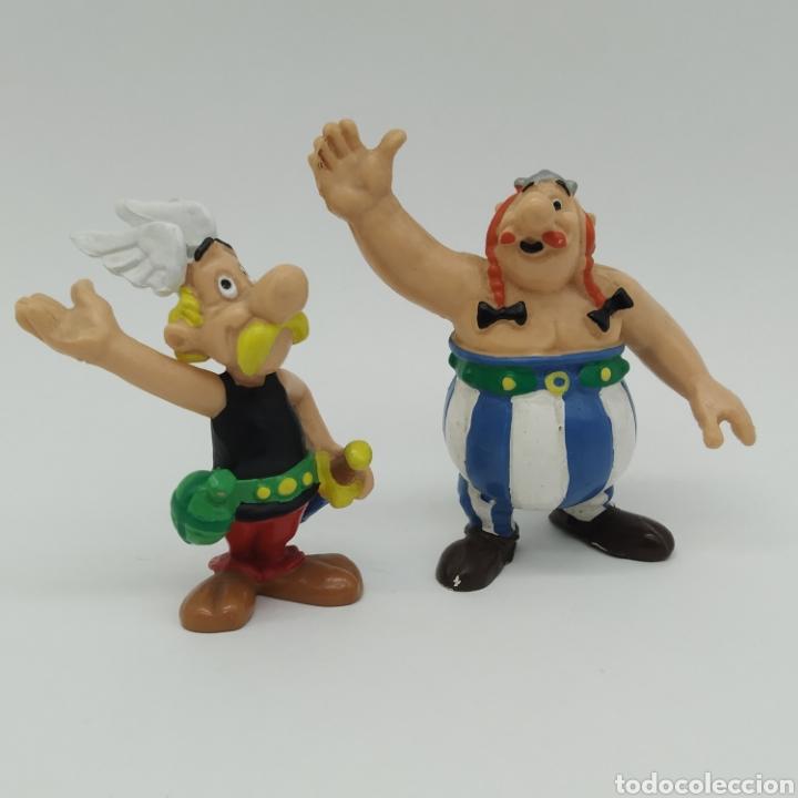 ASTERIX Y OBELIX DE BULLY Y BULLYLAND (Juguetes - Figuras de Goma y Pvc - Bully)