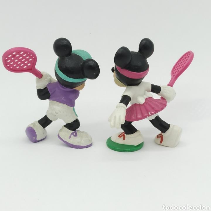 Figuras de Goma y PVC: Mickey Mouse y Minnie Mouse jugando a Tenis, Disney - Bullyland - Foto 2 - 207139873