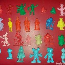Figuras de Goma y PVC: LOTE DE FIGURAS DUNKIN THUNDERCATS PANTERA ROSA VICKIE RUY EL CID. Lote 207141338