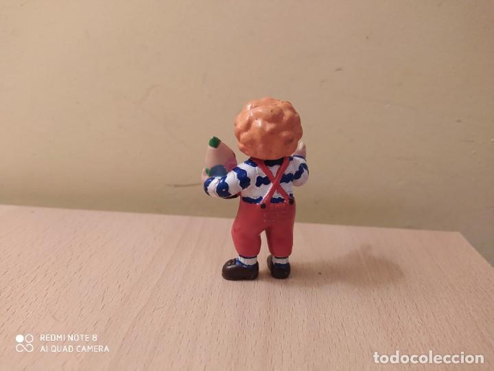 Figuras de Goma y PVC: FIGURA TEO CON LAPIZ, VIOLETA DENOU COMICS SPAIN 1988 - Foto 2 - 207180670