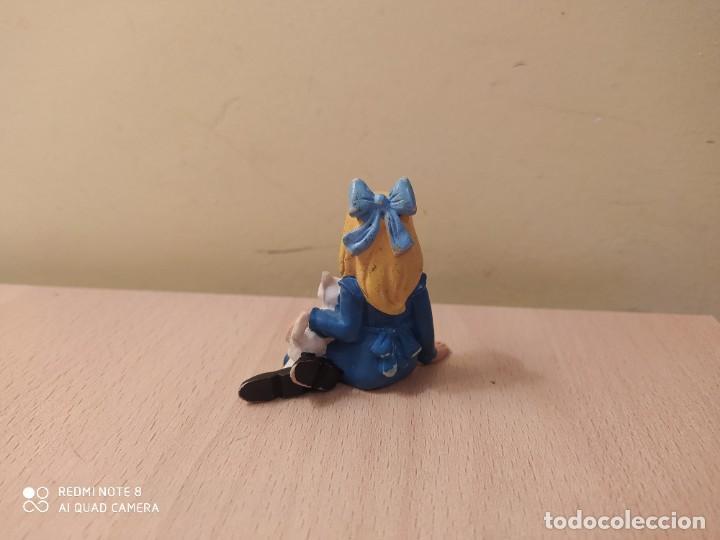 Figuras de Goma y PVC: FIGURA CLARA PERSONAJE DE HEIDI COMICS SPAIN AÑOS 80 gato PVC - Foto 2 - 207182847
