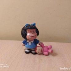Figuras de Goma y PVC: FIGURA MAFALDA COMICS SPAIN AÑOS 80 QUINO CON MUÑECA PVC. Lote 207183040