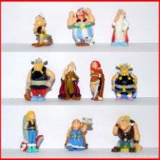Figuras Kinder: HUEVOS KINDER ASTERIX Y LOS VIKINGOS 2006 COLECCION COMPLETA. Lote 207194455