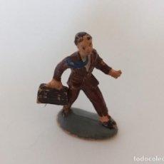 Figuras de Goma y PVC: FIGURA PERSONAJE CIVIL GOMA PECH JECSAN. Lote 207211863