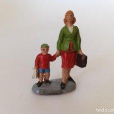 Figuras de Goma y PVC: FIGURA SERIE FERROCARRIL PECH HNOS. Lote 207212127