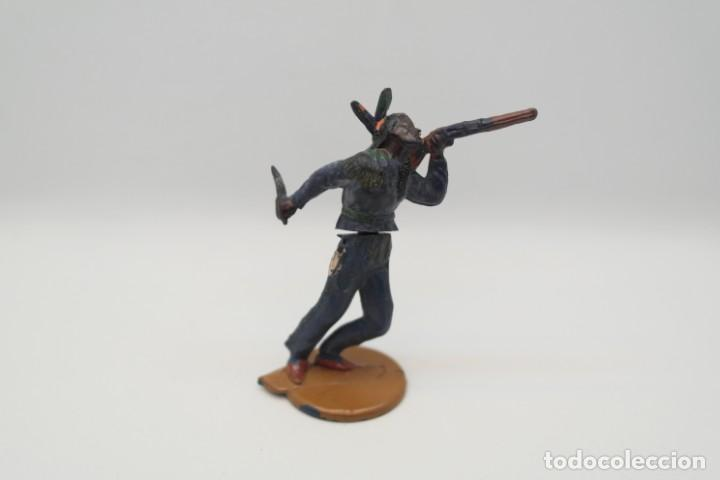 Figuras de Goma y PVC: Antigua Figura del Oeste en Goma . Gama. Serie Indios y Vaqueros. - Foto 6 - 207239551