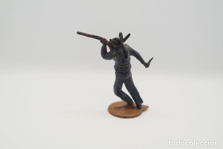 Figuras de Goma y PVC: Antigua Figura del Oeste en Goma . Gama. Serie Indios y Vaqueros. - Foto 7 - 207239551