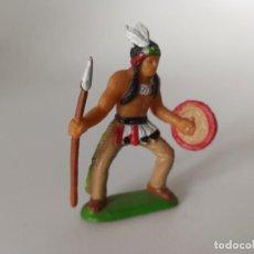 Figuras de Goma y PVC: INDIO LITTLE BIG HORN PANINI. Lote 207276495
