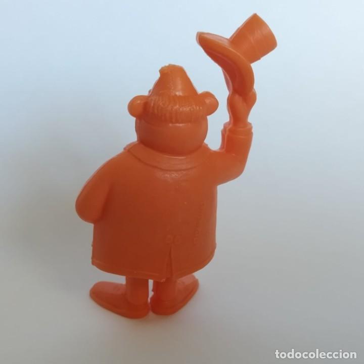 Figuras de Goma y PVC: Viajero Oliver Flips de la serie Lucky Luke, figura Dunkin - Tito con marca de la época Dargaud - Foto 2 - 207278072