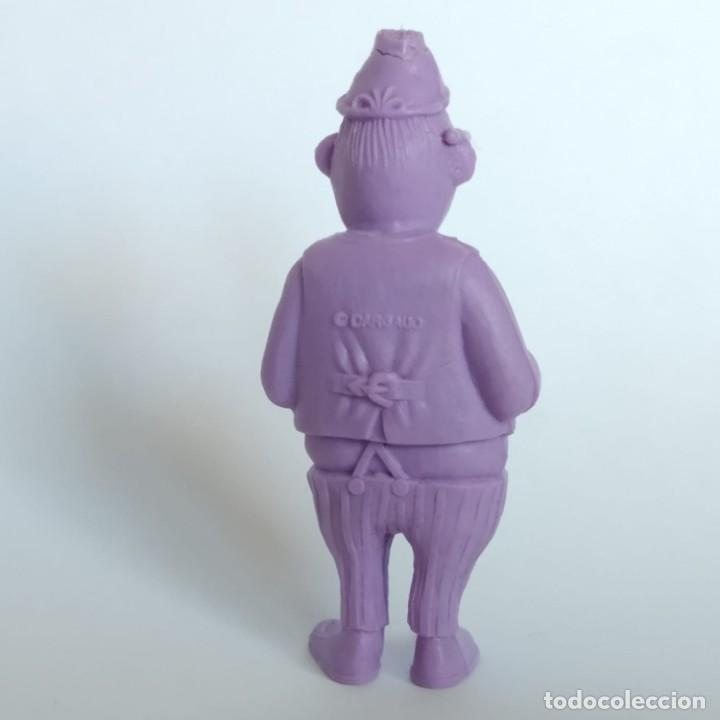 Figuras de Goma y PVC: Banquero de la serie Lucky Luke, figura Dunkin - Tito con marca de la época Dargaud - Foto 2 - 207279790