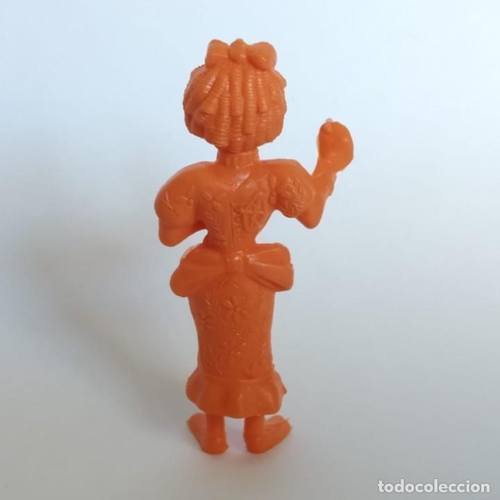 Figuras de Goma y PVC: Secretaria del Jefe de prisión serie Lucky Luke, figura Dunkin - Tito con marca de la época Dargaud - Foto 3 - 207279672