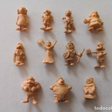 Figuras de Goma y PVC: DUNKIN FIGURAS DARGAUD PLASTICO.. Lote 207282601
