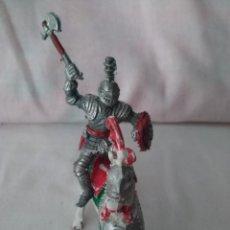 Figuras de Goma y PVC: FIGURA PLASTICO CABALLERO MEDIEVAL A CABALLO CASA LAFREDO. Lote 207284061