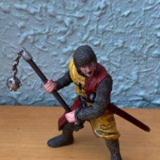 Figurines en Caoutchouc et PVC: FIGURA SOLDADO MEDIEVAL MANGUAL Y ESPADA. Lote 207302863
