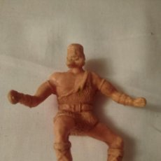 Figuras de Borracha e PVC: TAURUS A CABALLO, AMIGO DEL JABATO. ESTEREOPLAST AÑOS 60. BUEN ESTADO.Ñ. Lote 207337167