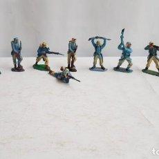 Figuras de Goma y PVC: LOTE 10 SOLDADOS LEGION FRANCESA EXTRANJERA. PECH. Lote 207342885