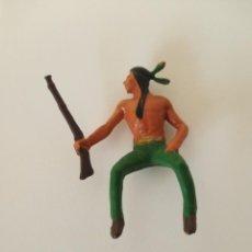 Figuras de Goma y PVC: FIGURA INDIO AÑOS 60. Lote 207343233