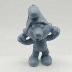 Figuras de Goma y PVC: ANTIGUO PITUFO GRUÑÓN AÑOS 80, SIN PINTAR, RAREZA. Lote 207424911
