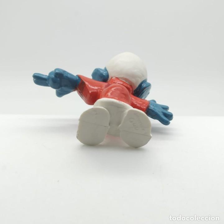 Figuras de Goma y PVC: Antiguo pitufo abogado años 80 - Foto 3 - 207443757