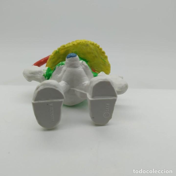 Figuras de Goma y PVC: Antiguo pitufina majorette años 80 - Foto 3 - 207443793