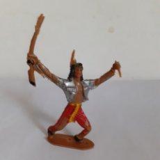 Figuras de Goma y PVC: FIGURA INDIO COMANSI PLASTICO. Lote 207473361