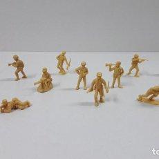 Figuras de Borracha e PVC: RESERVADO P****M SOLDADOS JAPONESES - HAZAÑAS Y COMBATES . FIGURAS DUNKIN . ORIGINAL AÑOS 70 / 80. Lote 207677642