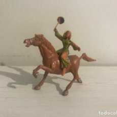 Figuras de Borracha e PVC: SIGRID A CABALLO, SERIE EL CAPITÁN TRUENO, PLÁSTICO, ESTEREOPLAST.. Lote 207893202