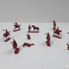 Figuras de Goma y PVC: LOTE DE SOLDADITOS MONTAPLEX - CABALLERIA DE NAPOLEON . AÑOS 70 / 80. Lote 207967895