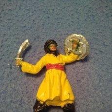 Figuras de Goma y PVC: FIGURA PLASTICO MORO SARRACENO CASA JECSAN SERIE BEN YUSUF. Lote 207976441