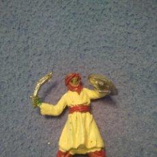 Figuras de Goma y PVC: FIGURA PLASTICO MORO SARRACENO CASA JECSAN SERIE BEN YUSUF. Lote 207978281