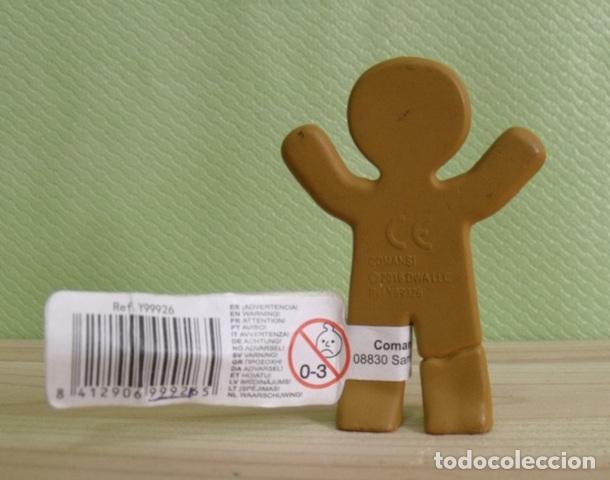 Figuras de Goma y PVC: Figura PVC Goma Dura Galleta Jengibre - Ginger Cookie - Película Shrek - Comansi - Foto 2 - 208198567