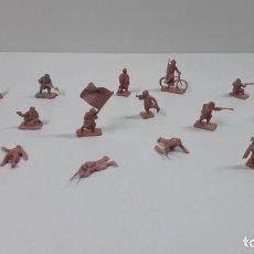 Figuras de Goma y PVC: LOTE DE SOLDADITOS MONTAPLEX . ORIGINAL AÑOS 70 / 80. Lote 208208766