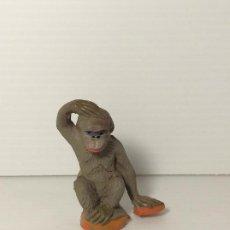 Figuras de Goma y PVC: FIGURA MONA EN GOMA DEL CIRCO DE JECSAN. Lote 208387015