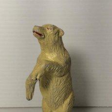 Figuras de Goma y PVC: FIGURA OSO POLAR EN GOMA DEL CIRCO DE JECSAN. Lote 208387160