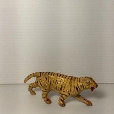 Figuras de Goma y PVC: FIGURA TIGRE EN GOMA DEL CIRCO DE JECSAN. Lote 208387563