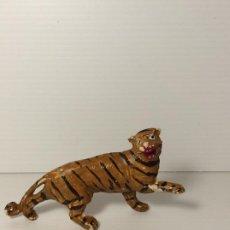Figuras de Goma y PVC: TIGRE EN GOMA DE TEIXIDO SERIE TBO - MORCILLON Y BABALI. Lote 208388693