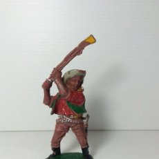 Figuras de Goma y PVC: FIGURA COWBOY 1 EN PLASTICO 7 CMS DE LAFREDO. Lote 208424351